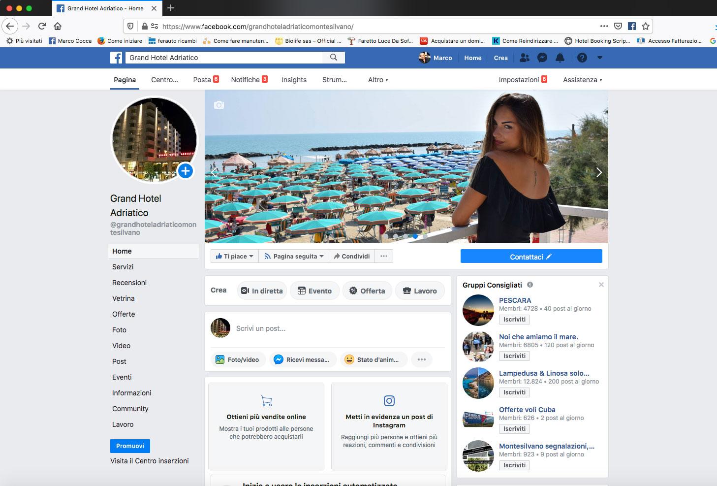grand hotel adriatico facebook
