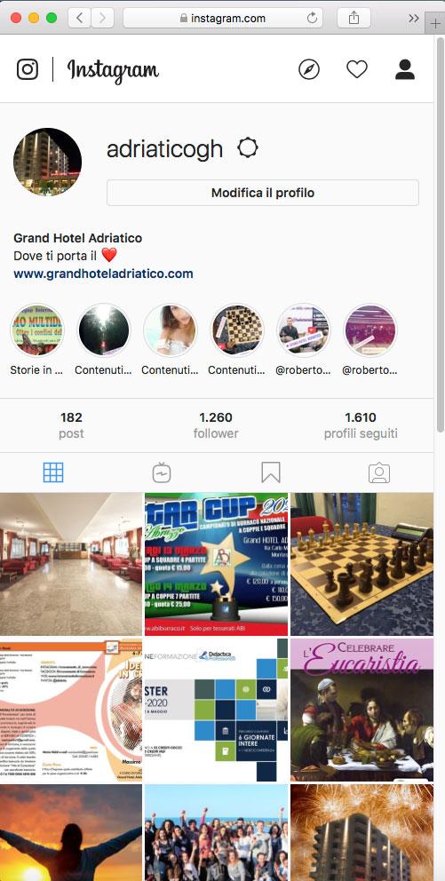 grand hotel adriatico instagram