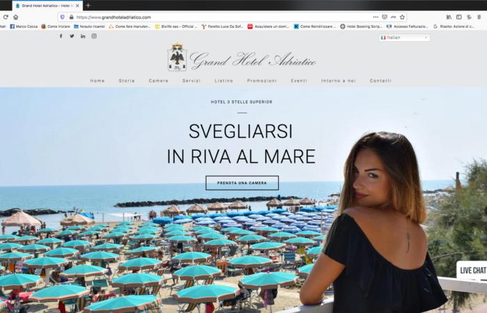 grand hotel adriatico sito web