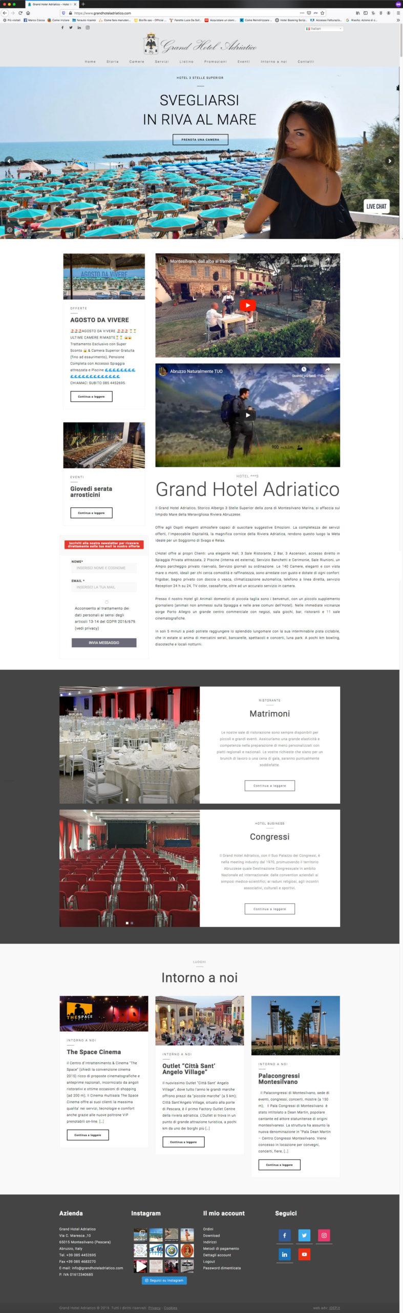 grand hotel sito web