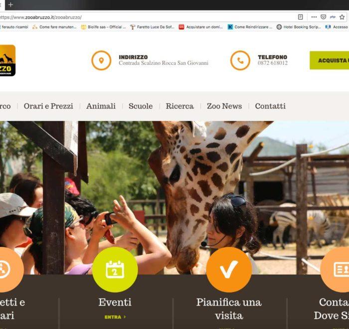 home page zoo d'abruzzo