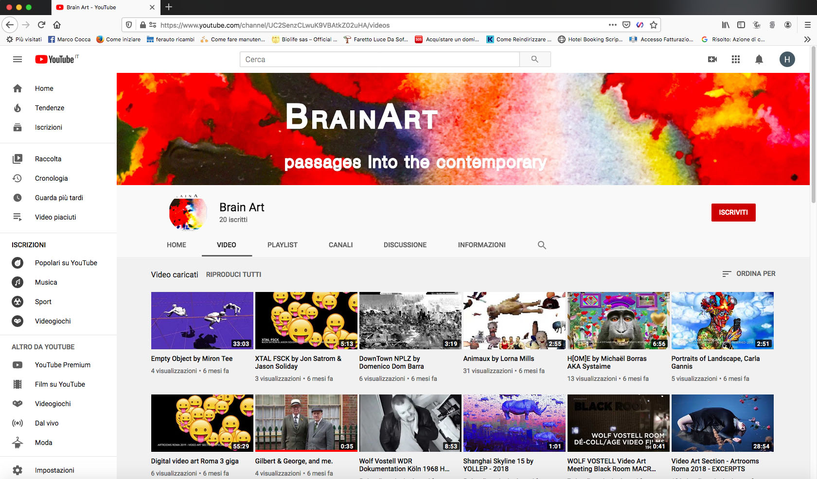 youtube brain art