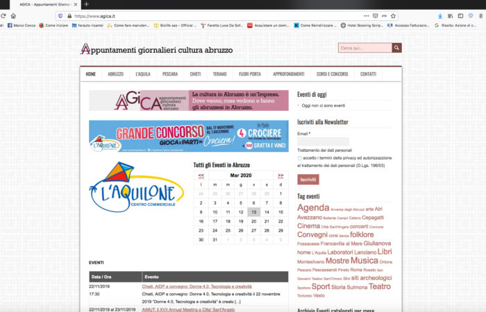 agica home page