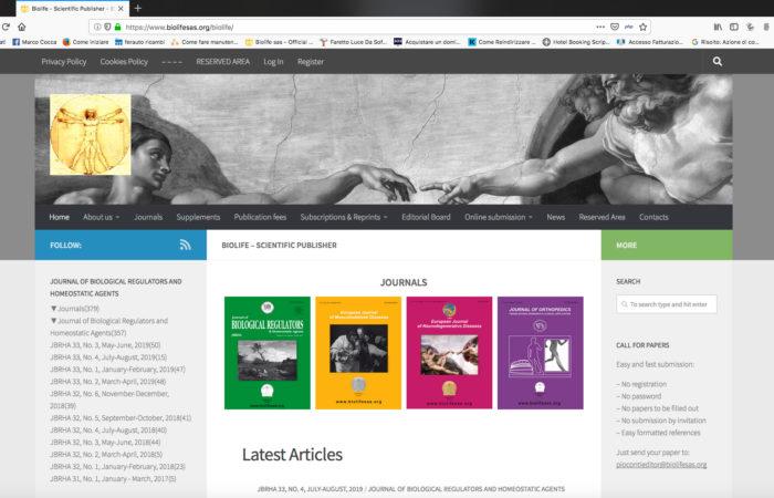 biolife homepage