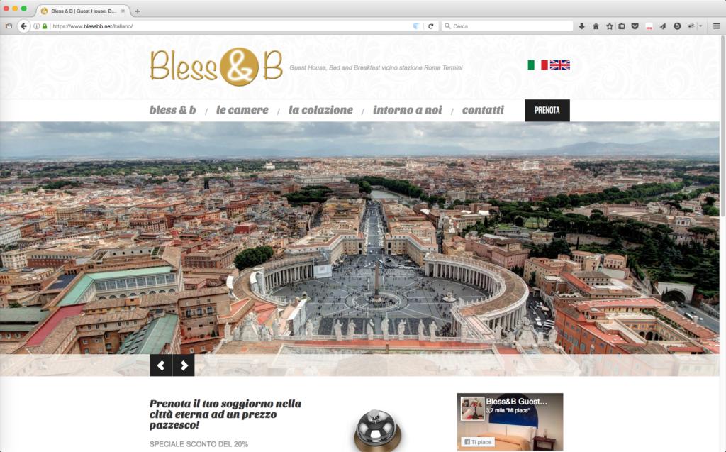 Bless&b sito web