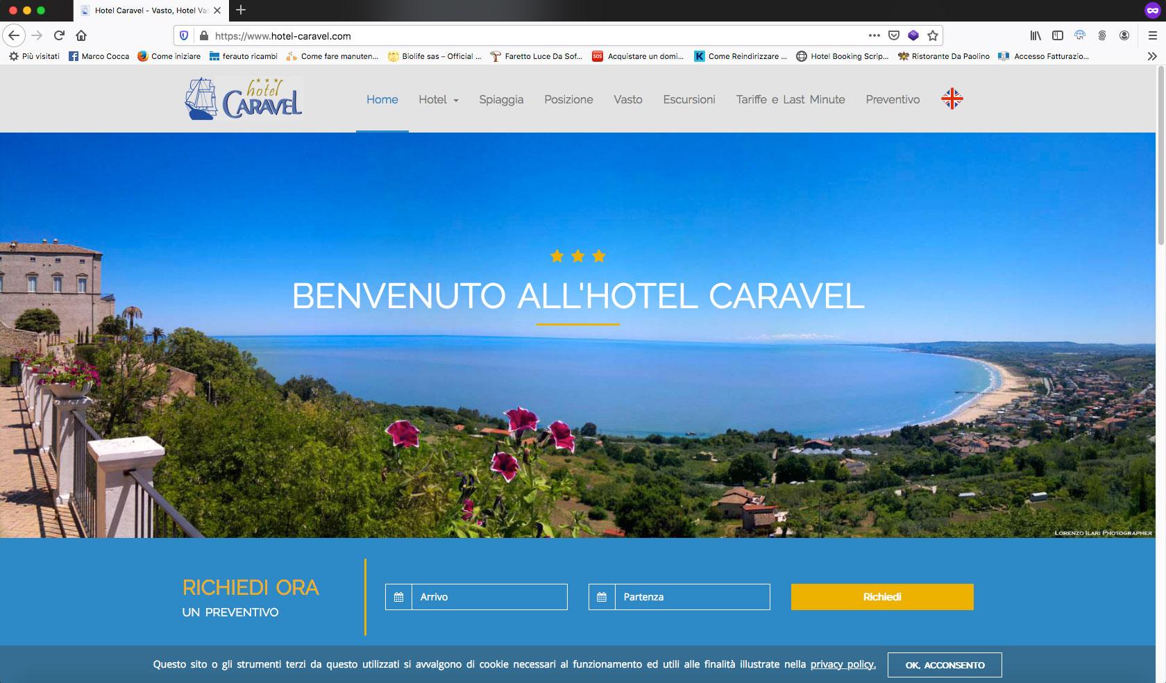 hotel caravel vasto (ch)