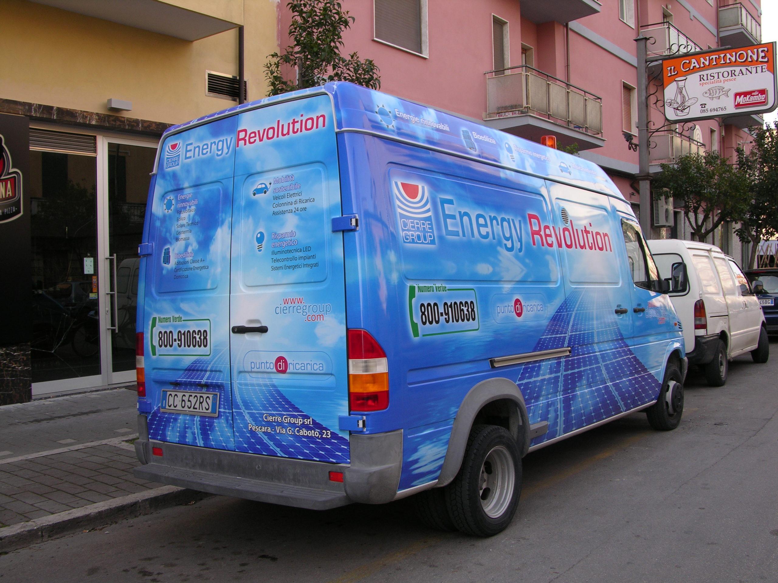 Cierre group furgone