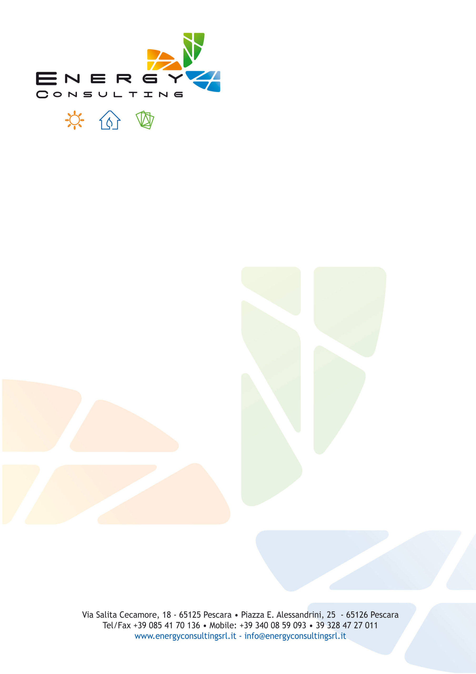 carta intestata energy consulting