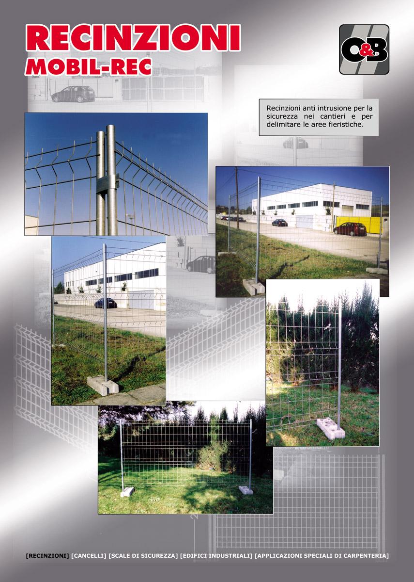 recinzioni mobili Orsini&Blasioli