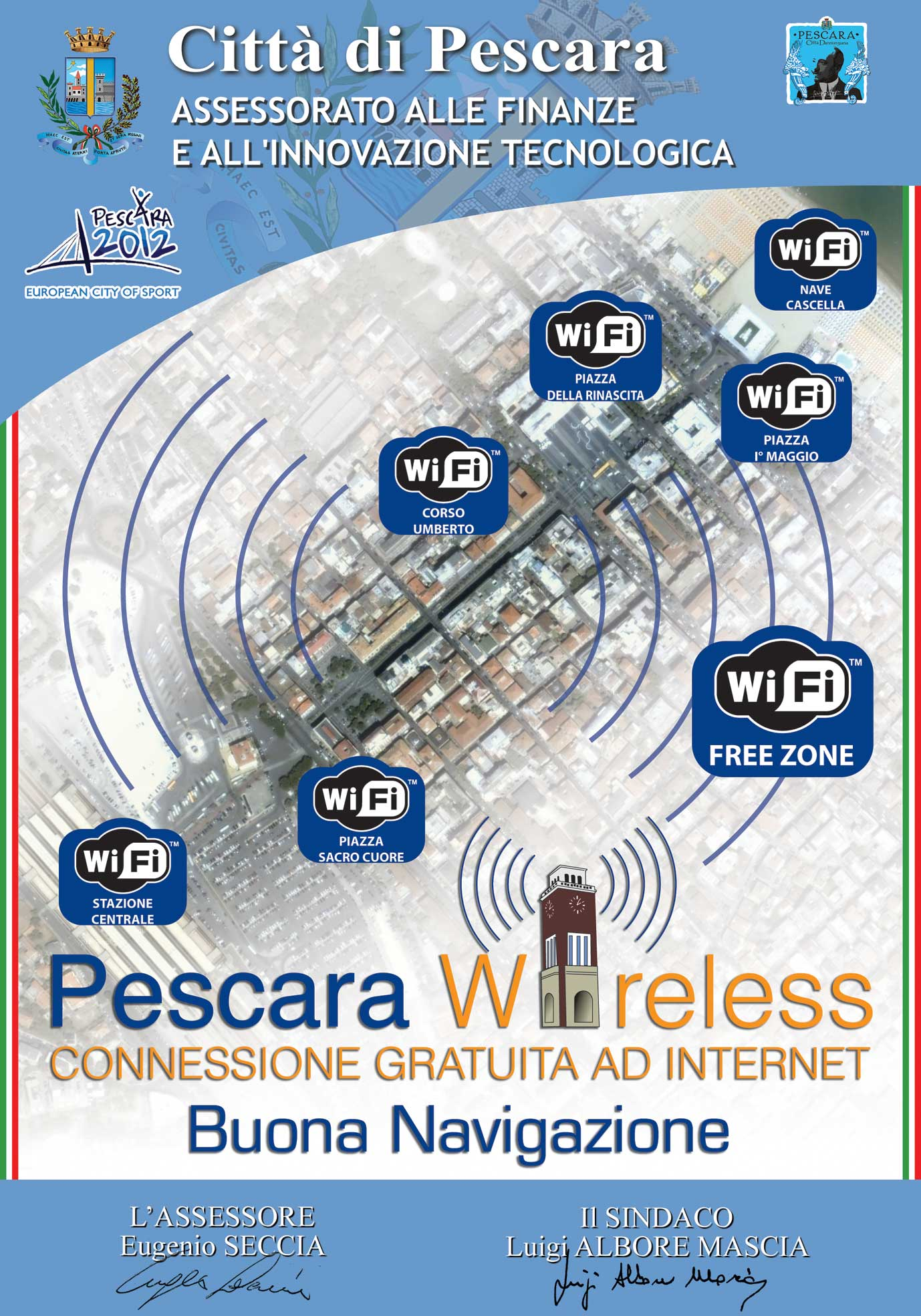 pescara wireless