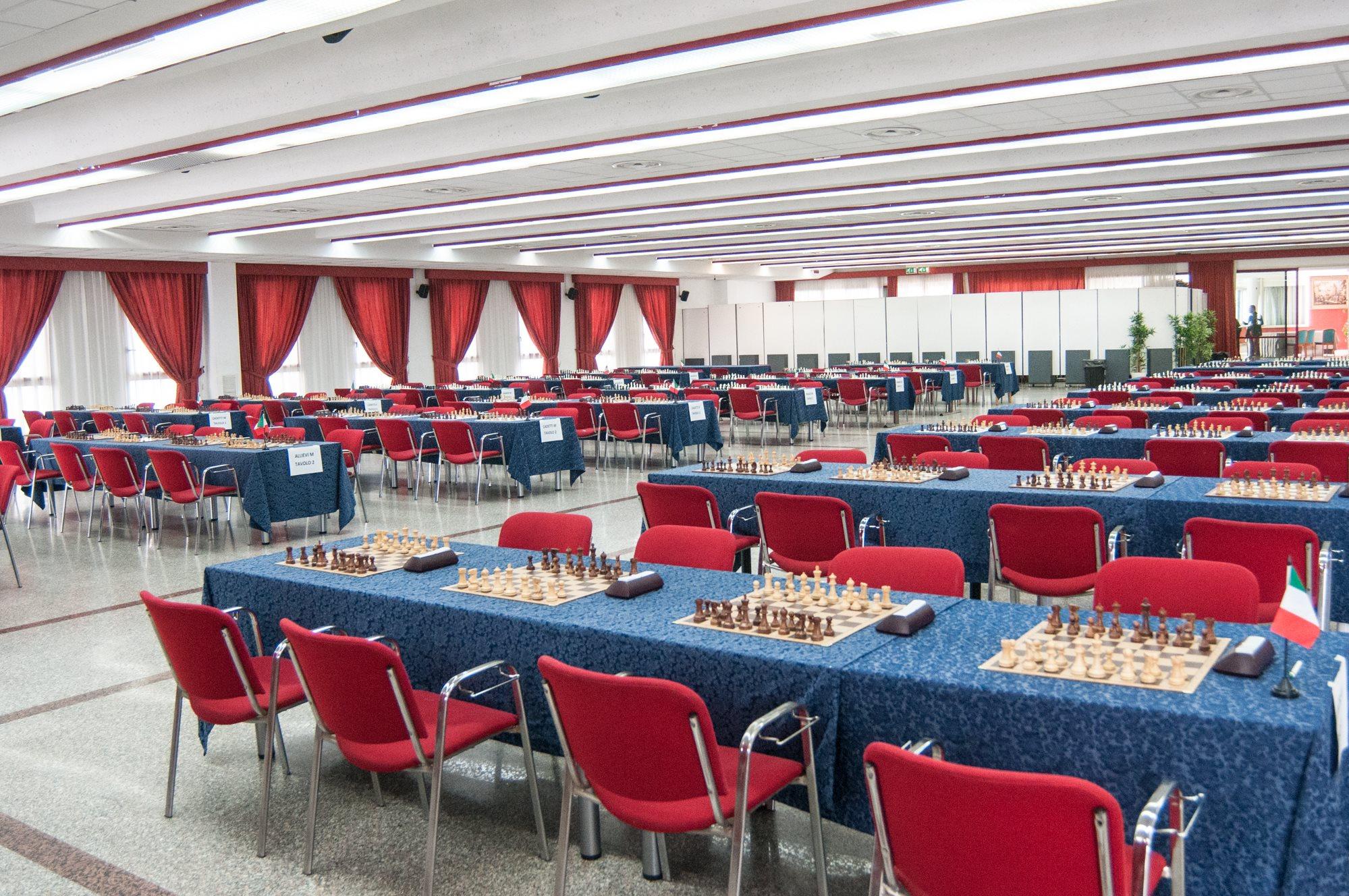 Grand Hotel Adriatico Evento Scacchi