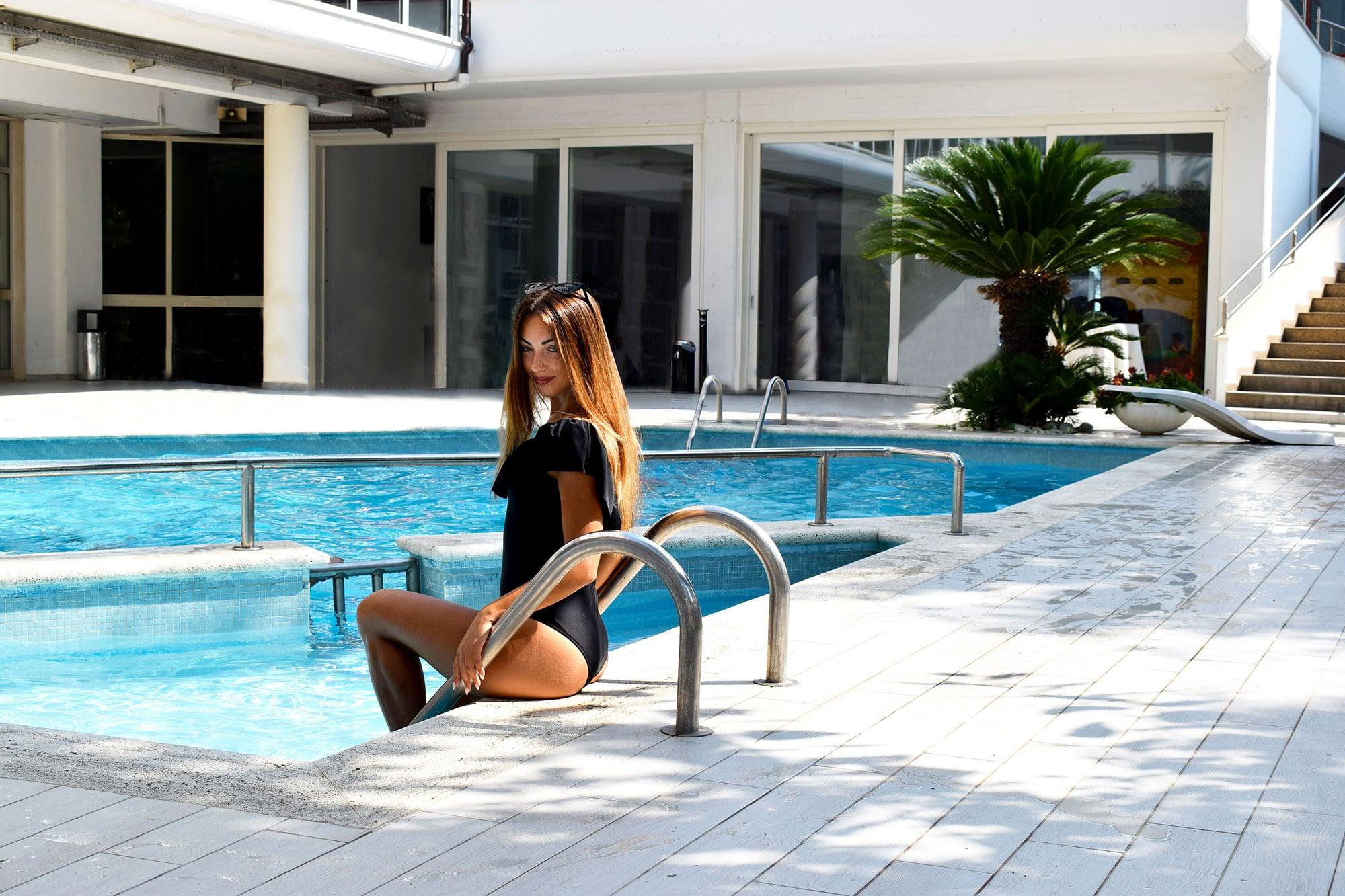 Grand Hotel Adriatico Piscina